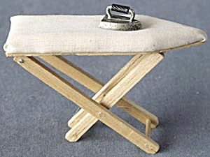 Dollhouse Ironing Board & Iron