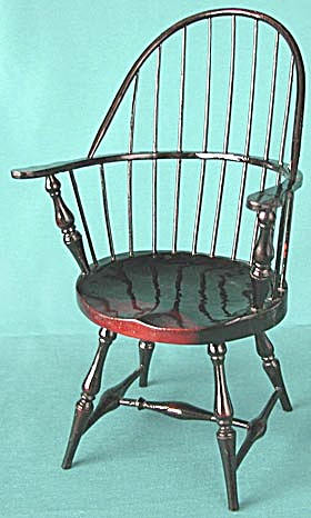 Spindle Back Doll Chair