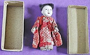 Vintage Japanese Doll In Original Box