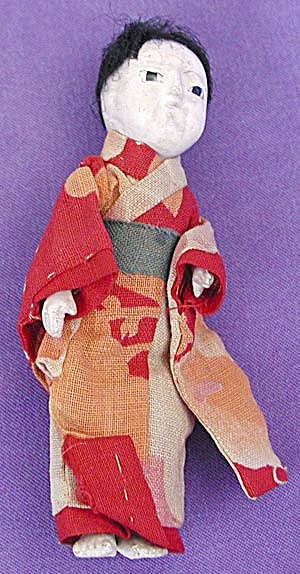 Vintage Small Japanese Doll
