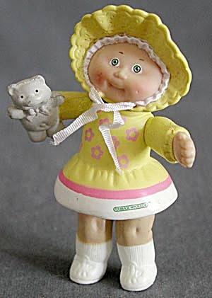 Cabbage Patch Doll With Teddy Bear