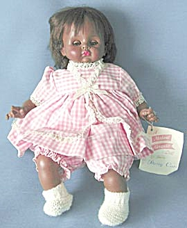 Madame Alexander 1965 Pussy Cat Black Baby Doll (Image1)