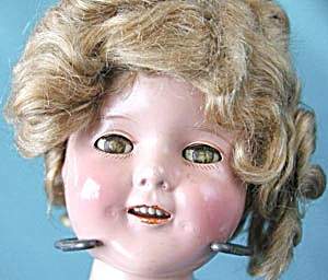 "Vintage Shirley Temple 15"" Doll"