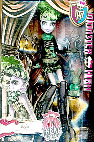 Monster High Twyla Freak Du Chic