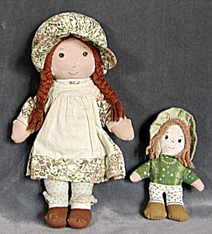 Holly Hobbie Dolls Set Of 3 Dolls Plastic Amp Such At