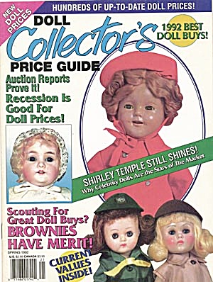 Doll Collector's Price Guide/antique Doll Collector
