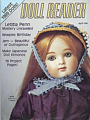 Doll Reader Magazine April 1989
