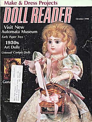 Doll Reader Magazine October 1990