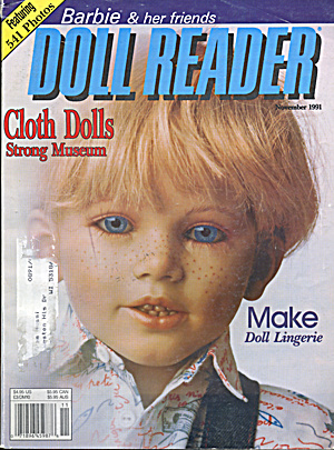 Doll Reader Magazine November 1991