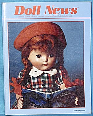 Doll News Magazine Spring 1990 Fall 1988 Winter 1989