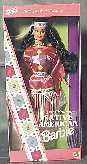 1994 Third Edition Native American Barbie (Image1)