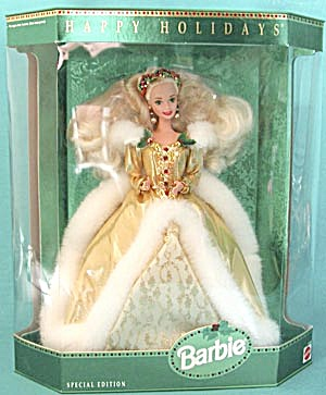 1994 Happy Holiday Barbie Doll (Image1)