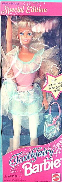 Special Edition Tooth Fairy Barbie Doll