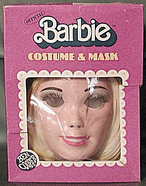 Ben Cooper Official Barbie Bride Costume and Mask (Image1)
