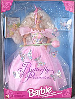 Butterfly Princess Barbie  (Image1)