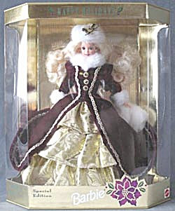 Happy Holidays Special Edition Holiday Barbie (Image1)