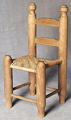 Shaker Doll Chair Vintage (Image1)
