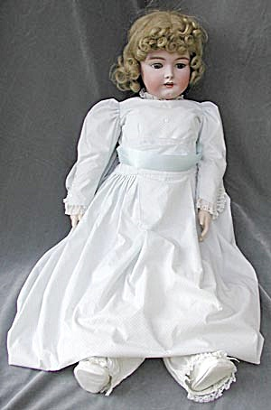German Heinrich Handwerck Simon Halbig Antique Doll (Image1)