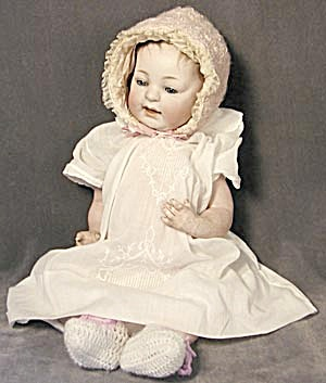 J D K German Antique Bisque Baby Doll