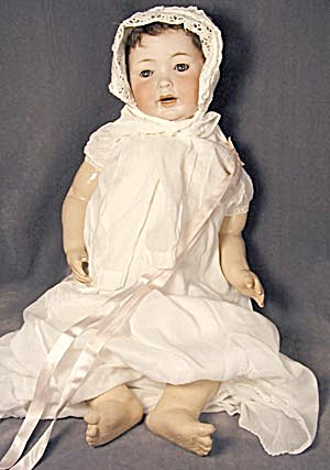 Otto Reinecke German Antique Bisque Baby Doll (Image1)