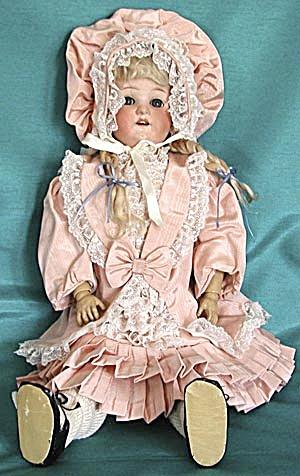 "Antique Ernest Heubach 23"" Doll (Image1)"