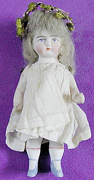Antique German Bisque Doll (Image1)