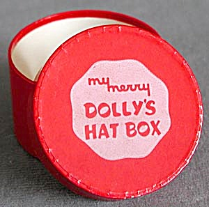 Vintage My Merry Dolly's Hat Box (Image1)