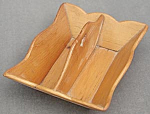 Vintage Doll's Wooden Cutlery Tray (Image1)
