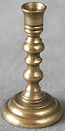 Vintage Brass Dollhouse Candlestick (Image1)