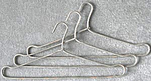 Wire Doll Hangers Set Of 3