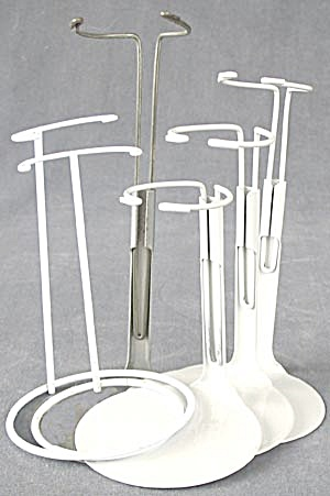 Adjustable Metal Doll Stands Set Of 6