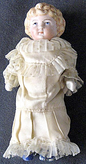 German Small Bisque Doll