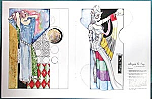 Morgan Le Fay & Veronica Lake Paper Dolls