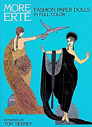 Tom Tierney: More Erte' Paper Dolls (Image1)