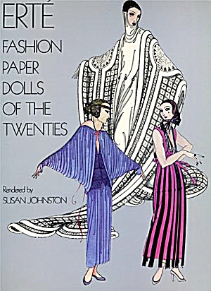 Erte' Fashion Paper Dolls Of The 20's