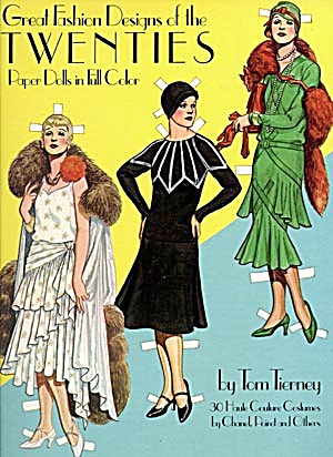 Tom Tierney: Great Fashion Designs Of The 20's