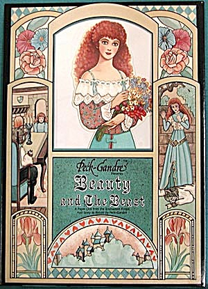 Peck-Grandre: Beauty and The Beast Paper Doll (Image1)