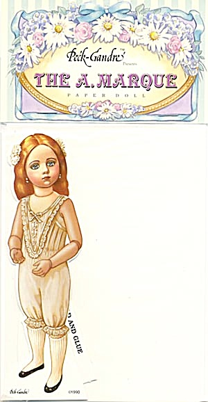 Peck-Gandre: The A. Marque Paper Doll 1990 (Image1)