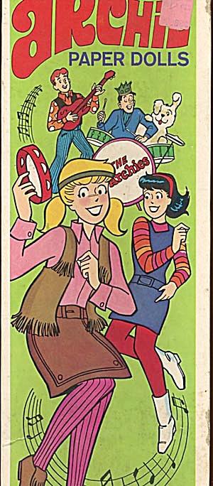 Vintage Archie Paper Dolls (Image1)