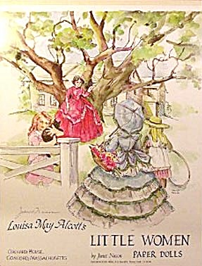 Louisa May Alcott's Little Women Paper Dolls (Image1)