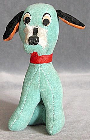 Vintage Dakin Dream Pet Aqua Dog (Image1)