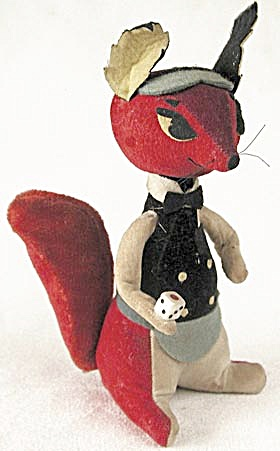 Vintage Dakin Dream Pet Fox Casino Dealer (Image1)