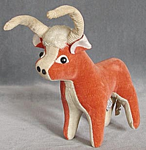 Vintage Dakin Dream Pet Standing Bull (Image1)