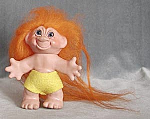 Large Thomas Dam Troll with Beautiful Long Hair (Image1)