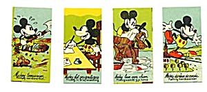 Vintage1930s  Mickey Mouse Foreign Cards (Image1)