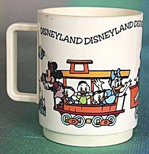 Vintage Disneyland Plastic Mug (Image1)