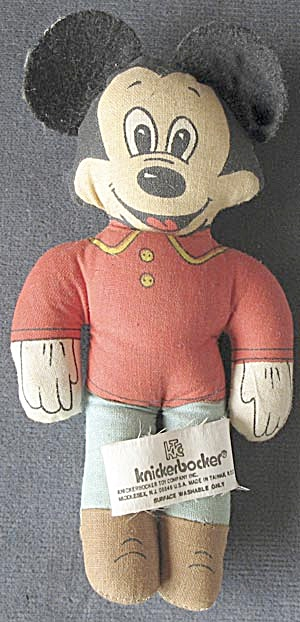 Vintage Knickerbocker Walt Disney Mickey Mouse (Image1)