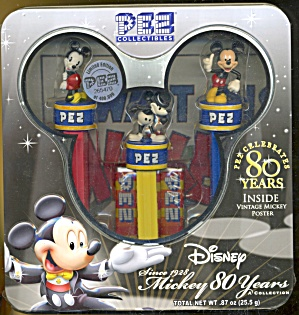 Pez Disney Mickey Mouse 80 Years