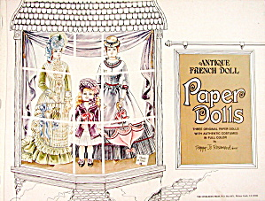 Vintage Antique French Doll Paper Dolls
