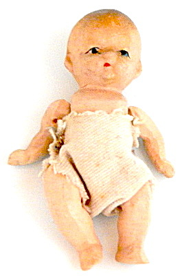 Vintage Small Jointed Doll